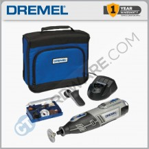 DREMEL 8200-1/35K BATTERY ROTARY TOOL 10.8VLI C/W 35PC ACCESSORIES (F0138200JB)