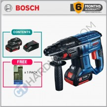 Bosch GBH 180-LI Professional Cordless Hammer 18V Come With 4AH