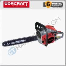"Worcraft GCS4618 Gasoline Chain Saw 18"" 46CC 2000W 11000Rpm Blade 430mm(3/8"" Oregon Chain/Bar)"