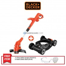 Black+Decker GL5530-B1 Grass Strimmer 550W 30cm Bundle with CM100 City Mower