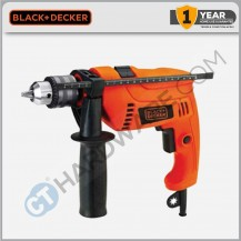 Black+Decker HD555KOPR-XD Hammer Drill 13mm
