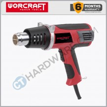 Worcraft HG20600 Hot Air Gun 2000W 350/500C 500L/Min