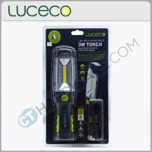 LUCECO LILT30R65 LED Rechargeable Multiposition Worklight 3W