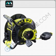 MASTERPLUG OATRU3013FL3IPPX OPEN ANTI-TWIST & REVERSE REEL WITH PULL OUT SOCKET 30+3M
