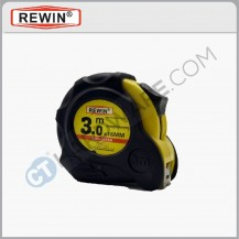 Rewin 3m x 16mm measuring tape (Metric /Inch) RJC3016A