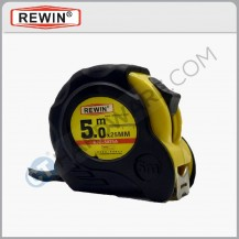 Rewin 5m x 25mm measuring tape (Metric /Inch) RJC5025A