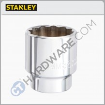 STANLEY STMT72961-8B STD SOCKET 10MM 1/2 DR 12PT = 86-542-1