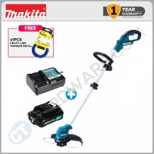 MAKITA UR100DZ CORDLESS GRASS TRIMMER COME WITH 1x 2.0Ah BATTERY & 1x CHARGER