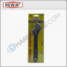 "REWIN WBS3308 ADJUSTABLE WRENCH 8"" 200MM"