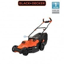 BLACK & DECKER BEMW471BH Electric Rotary Lawnmower 1600W 38cm
