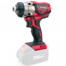"WORCRAFT CIS-S20LISOLO CORDLESS IMPACT SCREWDRIVER 20V 1/4"" 160NM 3000/MIN W/O BATTERY & CHARGER (CISS20LISOLO)"