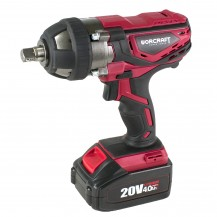 "WORCRAFT CIW-S20LISOLO CORDLESS IMPACT WRENCH 20V 1/2"" 300NM W/O BATTERY & CHARGER (CIWS20LISOLO)"