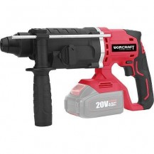 WORCRAFT CRH-S20LIT SOLO CORDLESS ROTARY HAMMER 20V 3 MODE 1000RPM W/O BATT & CHARGER (SDS PLUS) (CRHS20LITSOLO)