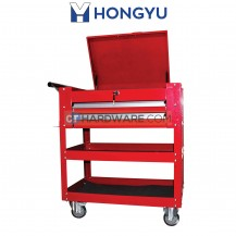 Hong Yu JS342 Tool Cart Trollwy c/w 2Pcs Drawer & Top Cover