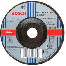 Bosch Grinding Disc Basic Metal 2608600263