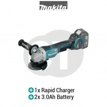"MAKITA DGA405RFE 4"" (100MM) CORDLESS BRUSHLESS ANGLE GRINDER (LXT SERIES)"