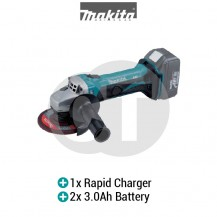 "MAKITA DGA452RFE 4-1/2"" (115MM) CORDLESS ANGLE GRINDER (LXT SERIES)"