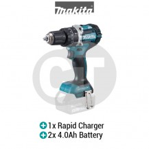 "MAKITA DHP484RME 13MM (1/2"") CORDLESS HAMMER DRIVER DRILL WITH BRUSHLESS MOTOR (LXT SERIES)"