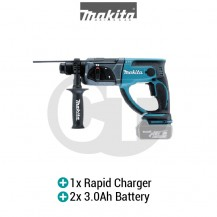 "MAKITA DHR202RFE 20MM (13/16"") CORDLESS COMBINATION HAMMER (LXT SERIES)"