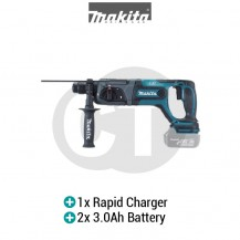 "MAKITA DHR241RFE 13/16"" (20MM) CORDLESS COMBINATION HAMMER (LXT SERIES)"