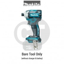 "MAKITA DTD148Z  1/4"" XPT CORDLESS IMPACT DRIVER WITH BRUSHLESS MOTOR (TOOL ONLY) (LXT SERIES)"