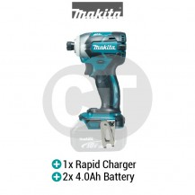 "MAKITA DTD148RME  1/4"" XPT CORDLESS IMPACT DRIVER WITH BRUSHLESS MOTOR (LXT SERIES)"