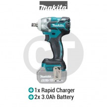 MAKITA DTW285RFE 18V Cordless Brushless Impact Wrench (LXT SERIES)