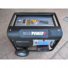 EuroPower EGY7502 6500W Gasoline Generator with AVR + Wheel