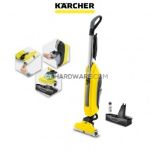 Karcher FC5 2 IN 1 Floor Cleaner 500Rpm 460W Roller 300mm 4.6kg