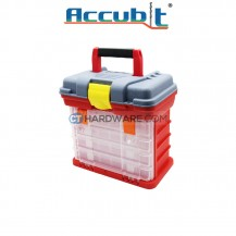 Accubit G2154C Plastic Drawer Tool Box 27.5 x 17.5 x 26cm
