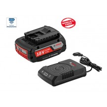 Bosch 1600A003NB Wireless  Starter Kit 18V  (c/w 1x 2.0AH Battery Pack & 1x GAL1830W Charger)