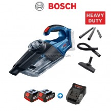 Bosch GAS18V-1 Professional Cordless Vacuum Cleaner 18V COMBO with 2x 3.0Ah Battery and AL1820CV Charger