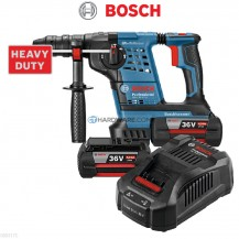 Bosch GBH36V-LI PLUS C/W 2 x 4.0Ah Battery AL 3680 CV Charger