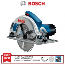 "BOSCH CIRCULAR SAW 7 1/4""  (190MM)  1400W   06015230L0/16230L0 / 0L1"