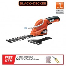 Black+Decker GSL7000kit-B1 7V Shear Shrubber