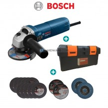 "Bosch GWS060 Professional 100mm (4"") Angle Grinder 670W + Handle"