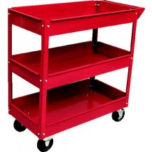 KINGTOYO KTTC301 TOOL TROLLEY 3 LAYER RED   700 X 350 X 760MM