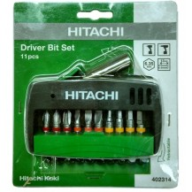 Hitachi Philip 11 piece Screwdriver Bits Set  (402314)