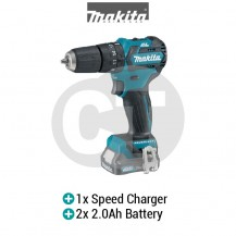 MAKITA HP332DSAE CXT 10mm (3/8'') CORDLESS HAMMER DRIVER DRILL WITH BRUSHLESS MOTOR (12V CXT SERIES)