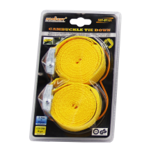 HORUSDY CAMBUCKLE TIE DOWN 2.5M X 25MM 125 - 250KGS