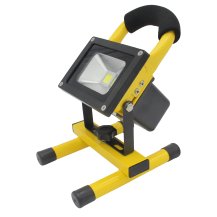 CT GY5310W 10W Led Flood Light Portable Rechargable By Power Supply Or Cigrette Lighter Power