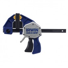 "IRWIN QUICK GRIP BAR CLAMP / SPREADER 12""/ 300MM  SP600  ONE HANDED BAR CLAMP ( THROAT DEPTH 92MM )"