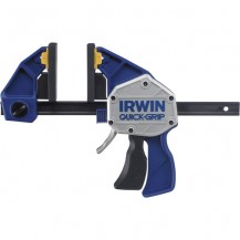 "IRWIN QUICK GRIP BAR CLAMP / SPREADER 24"" /600MM  XP600 ONE HANDED BAR CLAMP ( THROAT DEPTH 92MM )"
