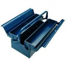 HONG YU METAL TOOL BOX 2 LAYER ( BLUE COLOUR )  = JS072