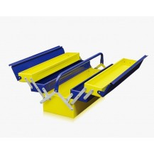 HONG YU METAL TOOL BOX  ( YELLOW & BLUE COLOR )