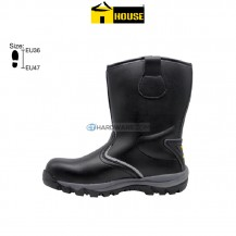 House MANCHESTER Safety Boot Eva Nitrile Rubber (Outsole) Black