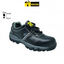 House MILAN Safety Shoe (Microfibre Leather) Composite Toe Cap