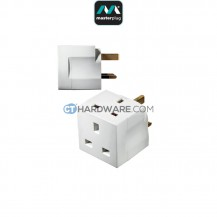 Masterplug MultiSocket Adaptor 2x Socket 13Amps(Basic Power)
