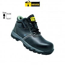 House MUNICH Safety Shoe (Microfibre Leather) Composite Toe Cap