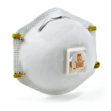 3M 8511 N95 RESPIRATOR WITH VALVE